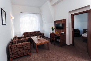 Kuren in Tschechien: Zimmerbeispiel im Kurhotel Miramare Luhacovice Luhatschowitz