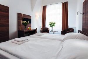 Kuren in Tschechien: Weitere Zimmeransicht im Kurhotel Miramare Luhacovice Luhatschowitz