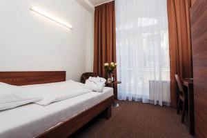 Kuren in Tschechien: Zimmeransicht Einzelzimmer im Kurhotel Miramare Luhacovice Luhatschowitz