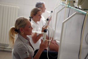 Kuren in Tschechien: Inhalation im Kurhotel Miramare Luhacovice Luhatschowitz