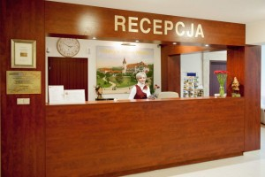 Kuren in Polen: Rezeption in der Klinika Mlodosci Medical SPA Bad Flinsberg Isergebirge