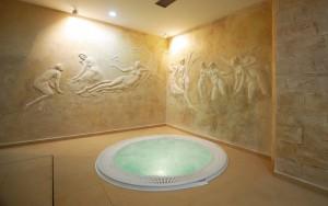 Kuren in Polen: Whirlpool in der Klinika Mlodosci Medical SPA Bad Flinsberg Isergebirge