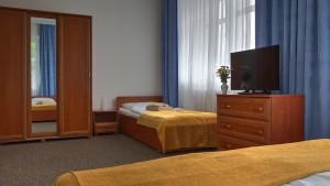 Kuren in Polen: Weitere Zimmeransicht in der Klinika Mlodosci Medical SPA Bad Flinsberg Isergebirge