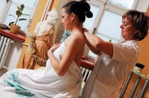 Kuren in Tschechien: Behandlungszimmer im Wellnesszentrum Jizera in Bad Liebwerda