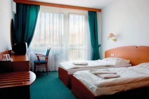 Kuren in Tschechien: Wohnbeispiel im Hotel Novy Dum in Bad Liebwerda