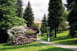Kuren in Tschechien: Umgebung vom Hotel Novy Dum in Bad Liebwerda
