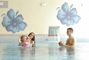 Kuren in Polen: Schwimmbad im Kurhaus Olymp 2 in Kolberg Kolobrzeg Ostsee