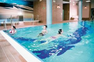 Kuren in Polen: Schwimmbad des Kurhaus Olymp 3 in Kolberg Kolobrzeg Ostsee