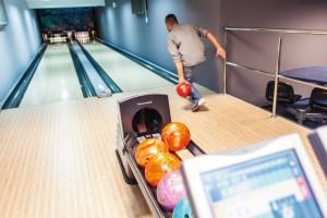 Kuren in Polen: Bowlingbahn im Kurhaus Olymp 3 in Kolberg Kolobrzeg Ostsee