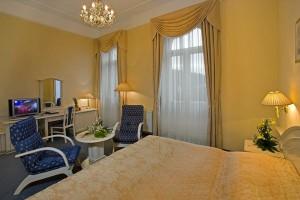Kuren in Tschechien: Beispielzimmer des Danubius Health Spa Resort Grandhotel Pacifik in Marienbad Mariánské Lázně