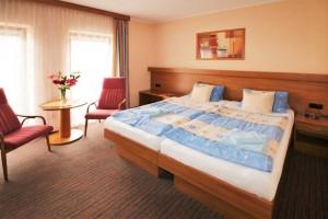 Beispiel Doppelzimmer komfort im Kurhaus Palace 1 Franzensbad Frantiskovy Lazne Tschechien
