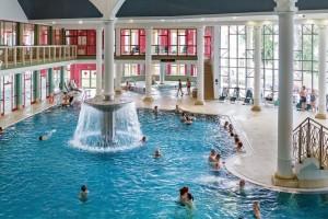 Kuren in Tschechien: Ansicht des Aquaforum in Franzensbad