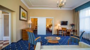 Kuren in Tschechien: Wohnbeispiel Apartment im Kurhotel Pawlik in Franzensbad Frantiskovy Lázne