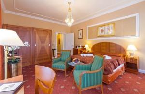 Kuren in Tschechien: Zimmerbeispiel im Kurhotel Pawlik in Franzensbad Frantiskovy Lázne