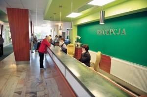 Kuren in Polen: Rezeption vom Sanatorium Perla Baltyku in Kolberg Kolobrzeg Ostsee