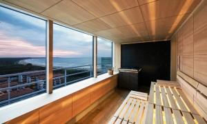 Kuren in Polen: Sauna im Radisson Blu Resort Swinemünde Swinoujscie