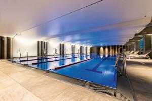 Kuren in Polen: Hallenbad des Radisson Blu Resort Swinemünde Swinoujscie