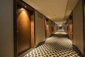 Kuren in Polen: Flur im Radisson Blu Resort Swinemünde Swinoujscie