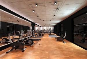 Kuren in Polen: Fitnessraum im Radisson Blu Resort Swinemünde Swinoujscie