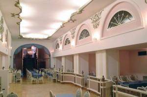 Kuren in Tschechien: Kurhotel Radium Palace in St. Joachimsthal Jáchymov