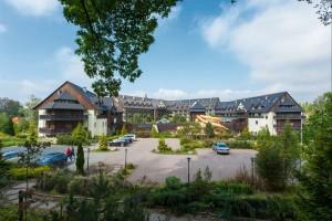 Kuren in Polen: Außenansicht vom Wellnesshotel Sandra SPA Karpacz in Krummhübel