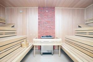 Kuren in Polen: Finnische Sauna des Wellnesshotel Sandra SPA Karpacz in Krummhübel