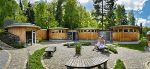 Kuren in Deutschland: Saunalandschaft im Bade- und Wellness-Landschaft Bad Brambach - Santé Royal Resort in Bad Brambach