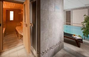 Kuren in Tschechien: Sauna im Kurhaus Savoy in Franzensbad Frantiskovy Lazne