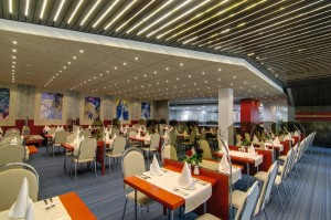 Kuren in Tschechien: Speisesaal im Hotel Thermal in Karlsbad Karlovy Vary