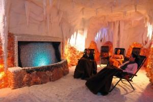 Kuren in Tschechien: Salzgrotte im Hotel Thermal in Karlsbad Karlovy Vary