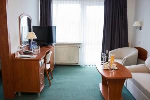 Kuren in Polen: Beispiel Apartment im Hotel Unitral in Mielno