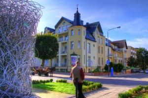 Kuren in Polen: Blick auf das Villa Merry Swinemünde Swinoujscie