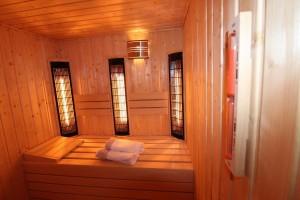 Kuren in Polen: Sauna der Villa Merry Swinemünde Swinoujscie