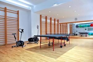 Kuren in Tschechien: Fitnessraum im Hotel Agricola Wellness und Sport Resort in Marienbad Mariánské Lázně