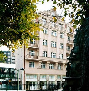 Kuren in Tschechien: Dependance Wolker des Astoria Hotel & Medical SPA in Karlsbad (Karlovy Vary)