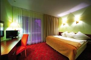 Kuren in Polen: Zimmerbeispiel im Hotel Atol SPA in Swinemünde Swinoujscie