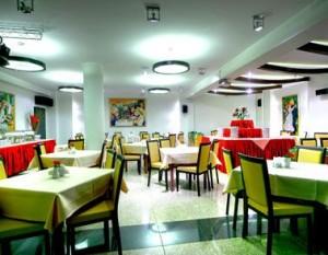 Kuren in Polen: Restaurant im Hotel Atol SPA in Swinemünde Swinoujscie