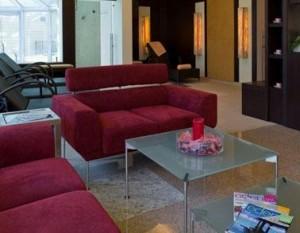 Kuren in Polen: Wartearea des Hotel Avangard und Panorama in Swinemünde