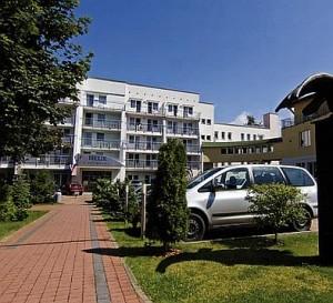 Kuren in Polen: Außenansicht von der Residenz Bielik in Misdroy