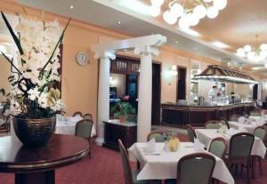 Kuren in Tschechien: Speiseraum im Ensana Health Spa Hotel Centrálni Lázne in Marienbad