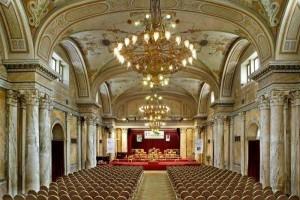 Kuren in Tschechien: Marble Hall im Ensana Health Spa Hotel Centrálni Lázne in Marienbad