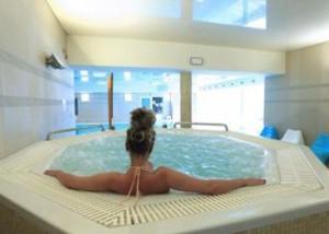 Kuren Polen: Whirlpool im Hotel Cieplice - Bad Warmbrunn Cieplice Zdroj