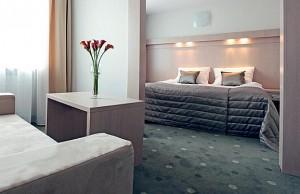Kuren Polen: Zimmeransicht im Hotel Cieplice in Bad Warmbrunn Cieplice Zdroj