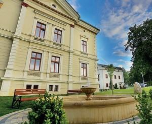 Kuren in Polen: Seitenansicht vom Cottonina in Bad Flinsberg Świeradów-Zdrój