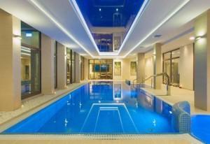 Kuren in Polen: Schwimmbad im Cottonina Villa & Mineral SPA in Bad Flinsberg Świeradów-Zdrój