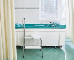 Kuren in Tschechien: Behandlungsraum im SPA Hotel Devin Marienbad