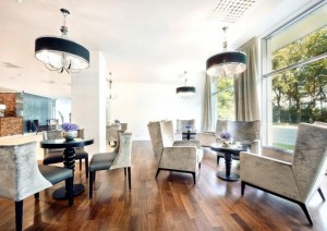 Kuren in Polen: Café des Diune Hotel & Resort Kolberg Kolobrzeg Ostsee Polen