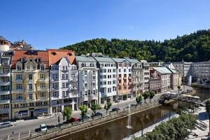 Kuren in Tschechien: Blick auf das SPA Hotel Dvorak in Karlsbad Karlovy Vary