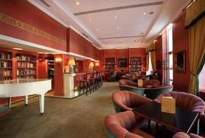 Kuren in Tschechien: Bar im SPA Hotel Dvorak in Karlsbad Karlovy Vary