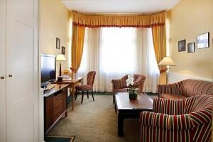 Kuren in Tschechien: Weiteres Wohnbeispiel im SPA Hotel Dvorak in Karlsbad Karlovy Vary
